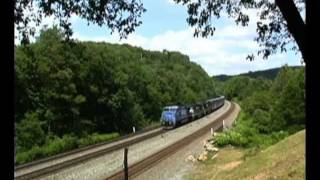 Conrail Summer Salute: Big Blue Surviving and Thriving in the Allegheny Mountains