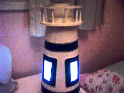 Faro Velador en mesa de luzMOV  YouTube
