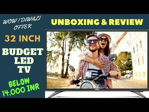 Budget LED TV 32 Inch Unboxing and Full Review Sanyo Panasonic LED TV | Best LED TV Under 15,000