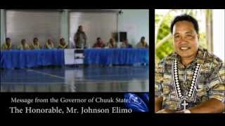 Chuuk State Governor, Mr. Johnson Elimo