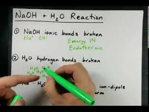 NaOH + H2O reaction