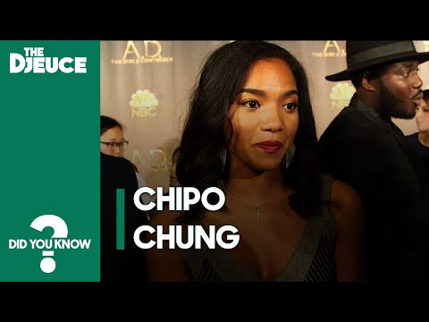 Did You Know: Chipo Chung