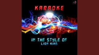 Be Prepared (Karaoke Version)