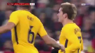 Antoine Griezmann 28m Volley Hammer Tor   Griezmann 28 metres Monster Goal