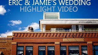 Eric & Jamie wedding at Sixteen03 main events in Bismarck ND by pricelessstudio.com