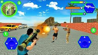 Miami Police Crime Vice Simulator # 6-야쿠자 갱 제거-Android 게임 플레이
