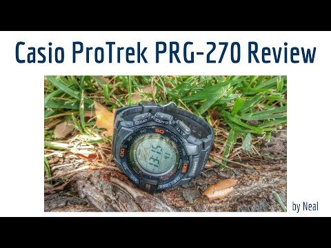 Casio ProTrek PRG-270 Review