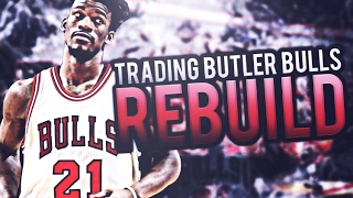 2 AMAZING YOUNG PLAYERS!! TRADING JIMMY BUTLER BULLS REBUILD! NBA 2K17
