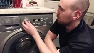 Hotpoint Extra 9kg washing machine - granite - WMXTF942