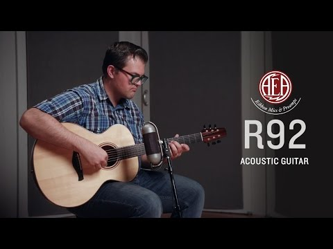AEA R92 - Acoustic Guitar - Listening Library