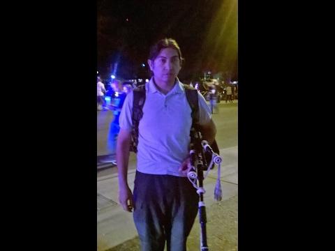 San Antonio Bagpiper - For Detective Benjamin Marconi - Nov 28, 2016