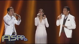 Sarah G, Erik & Gary V sing