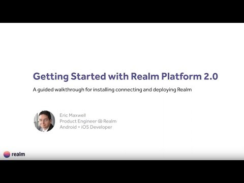 Getting Started With Realm Platform 2.0