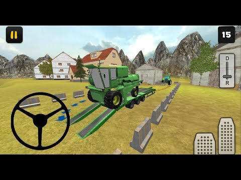 Tractor Simulator 3d Harvester Transport By Jansen Games Android Gameplay Hd Youtube