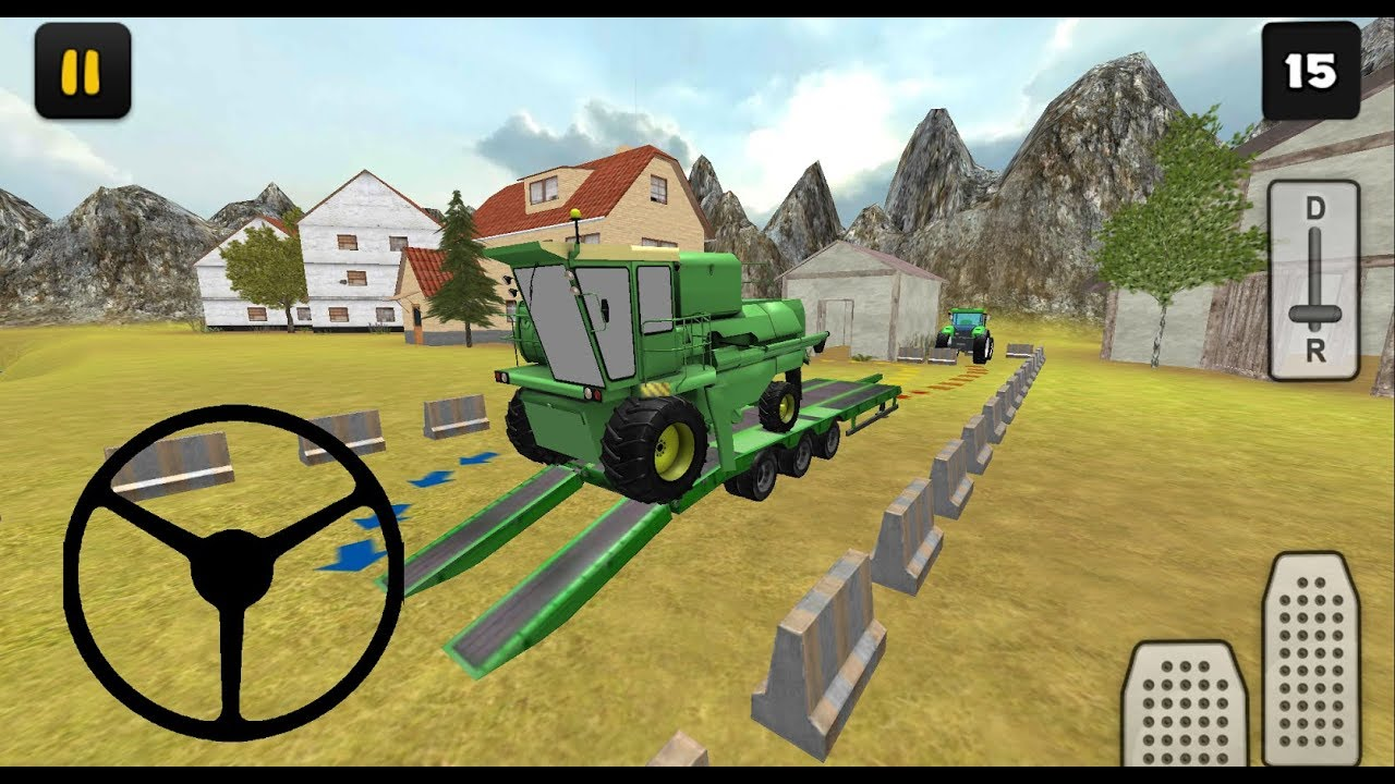 Tractor Simulator 3D: Harvester Transport (By Jansen Games) Android  Gameplay HD