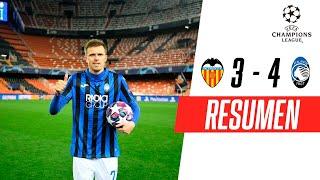 Valencia - Atalanta [3-4] | GOLES | Octavos de final (Vuelta) | UEFA Champions League