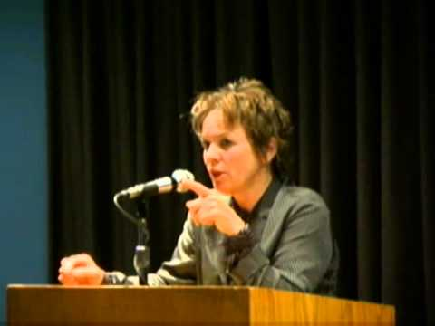 2005 - Part 1 of Laurie Anderson, Artist in Residence   The New School Archives