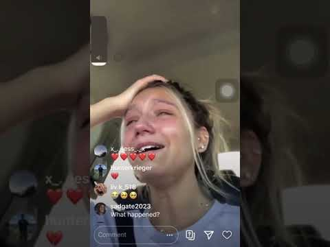 MAds Lewis ig live ( cries about the situation with jaden)