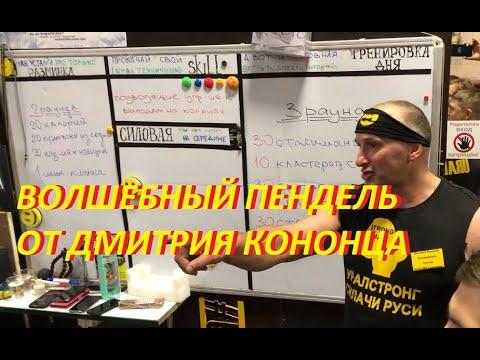 #UralStrong Волшебный пендель от Дмитрия Кононца