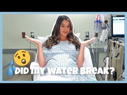 DID MY WATER BREAK?