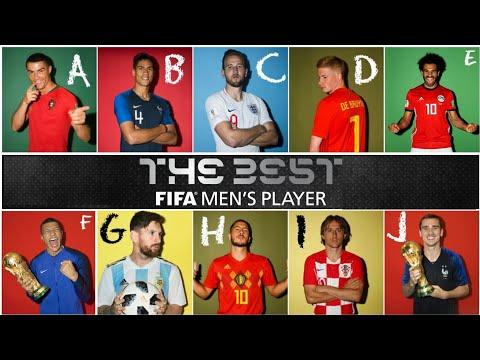 "Top 10 ""The Best FIFA Men's Player 2018"" Stats & Achievements 🔥🔥"