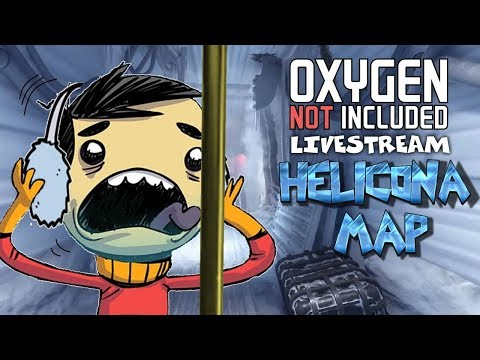 Returning to the Ice - Oxygen Not Included Gameplay - Helicona Map - Livestream