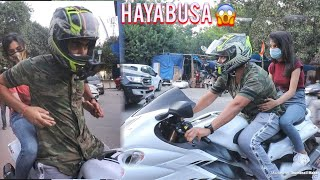 Picking Up Hot Girls On My HAYABUSA (EPIC REACTION) !!