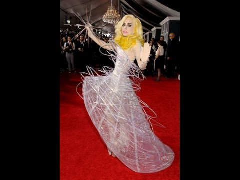 Grammy Glam Event 2012: Fashion Predictions Lady Gaga