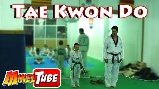 Mi Examen de Tae Kwon Do cinturón Verde en el Song Duck