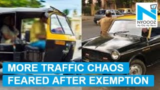 Exemption of commercial driving license willincrease trafficchaos, parking blues