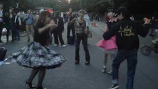 Harajuku sixties dance, Tokyo Japan