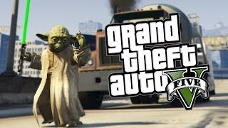 STAR WARS'Y + MOC JEDI :O! | GTA 5 PC MODY