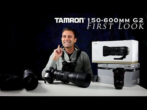 Tamron SP 150-600mm f/5-6.3 VC G2 First Look
