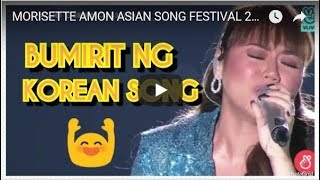 MORISETTE AMON  ASIAN SONG FESTIVAL 2018 IN BUSAN KOREA  - Originally Sang By Lee Young