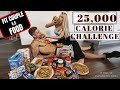 25,000 CALORIE CHALLENGE | BOYFRIEND ft GIRLFRIEND