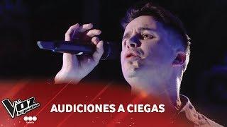 """Video Alejandro Martin - """"Con los años""""- Gloria Estefan - Audiciones a ciegas - La Voz Argentina 2018 download MP3, 3GP, MP4, WEBM, AVI, FLV Oktober 2018"""