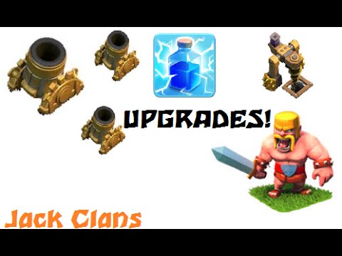 Lets Play Clash of Clans: Lvl 6 Mortars!!!