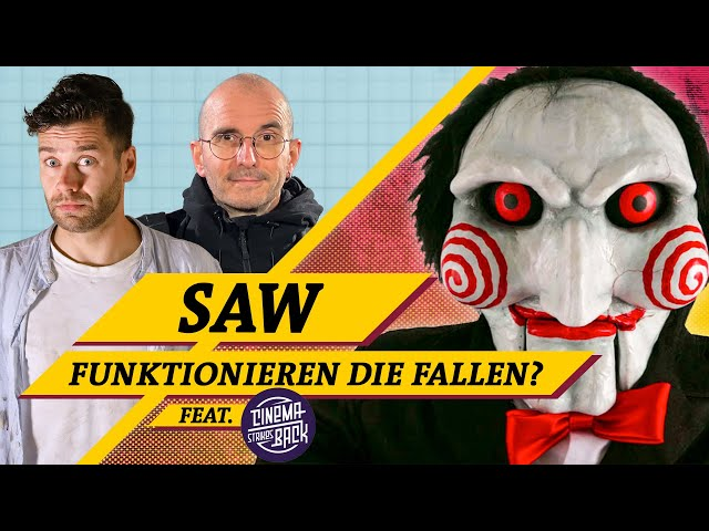 SAW: So tödlich sind die Fallen wirklich (feat. Mark Benecke & @Cinema Strikes Back )