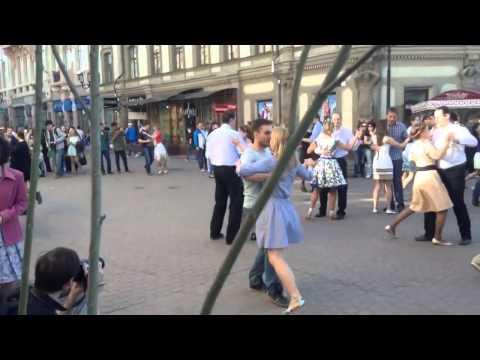 Флешмоб Танец Победы 9 мая 2014 г.Нижний Новгород
