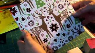 Gift Box making with Martha Stewart score board--Marion Smith's 31 Day Challenge Day 21