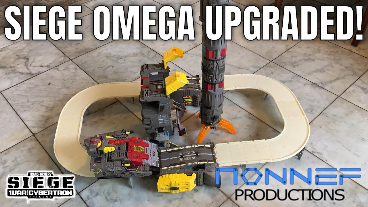 Nonnef Productions Siege Omega Supreme Tracks Kit Review, Larkin's Lair