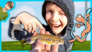 FATHER SON CATCH and COOK FISHING ADVENTURE!