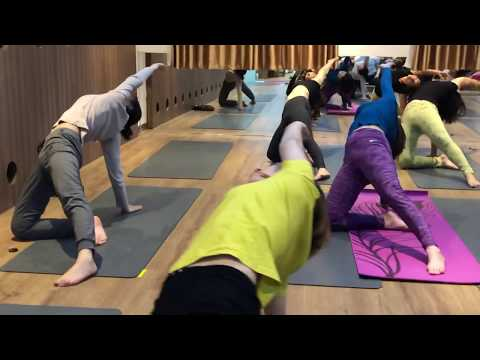 yoga workout with Master Ajay in Jai yoga