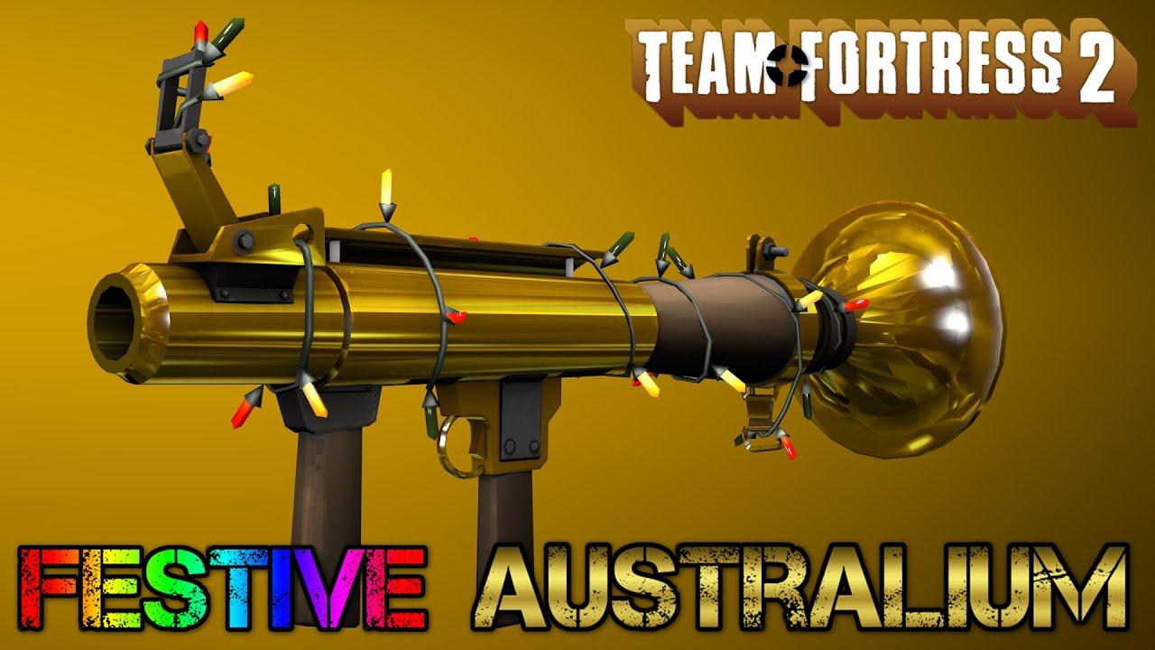 Tf2 Festive Australium Weapons Youtube