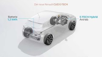 Renault CLIO E-Tech Hybrid - Deutsch