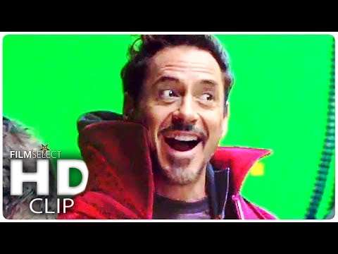 AVENGERS INFINITY WAR Behind The Scenes + Trailer (2018)