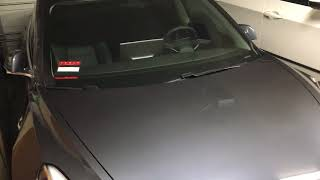 Tesla Model 3 clunking sound when off