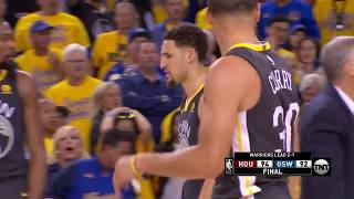 Thrilling Ending - Game 4 - Rockets vs Warriors | May 22, 2018 | 2018 NBA West Finals