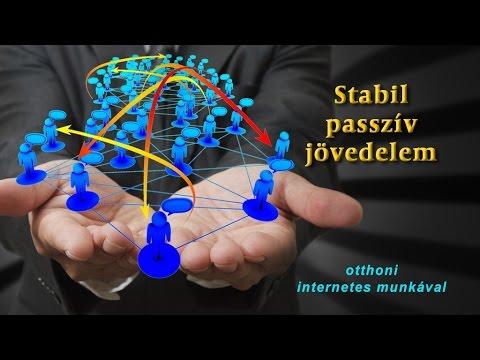 stabil internetes jövedelem
