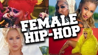 Top 50 Today's Most Listened Female Hip-Hop Songs in April 2020